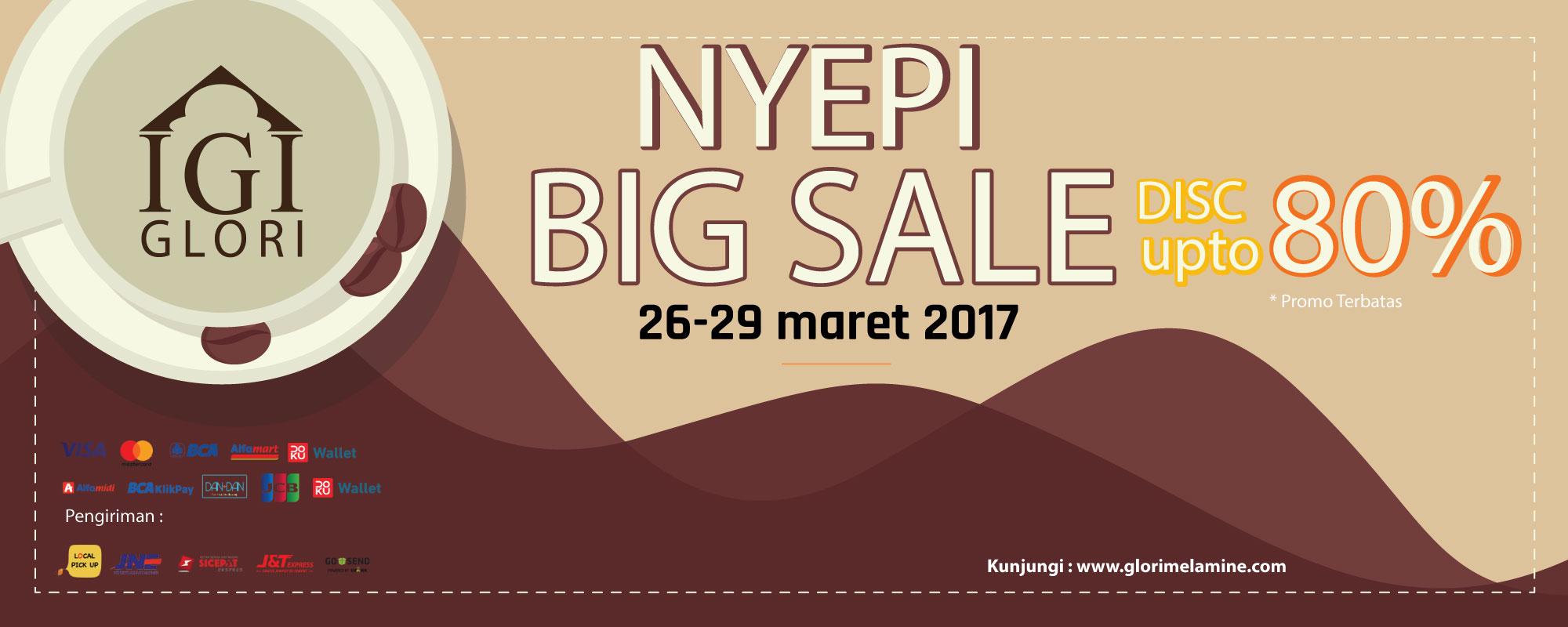 Promo Hari Raya Nyepi 2017 GLori Melamine, Diskon & Voucher Belanja Hemat