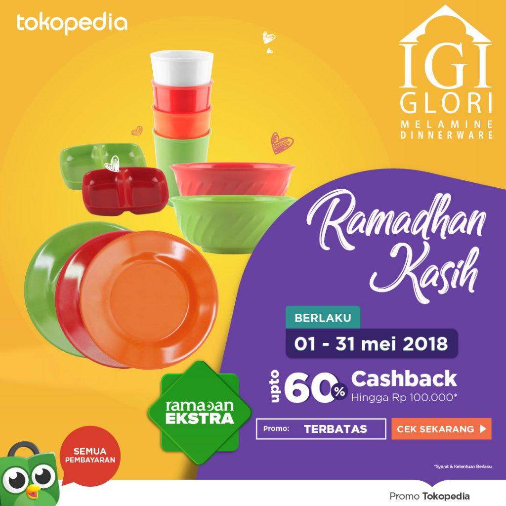 Promo Set Alat Makan di Tokopedia