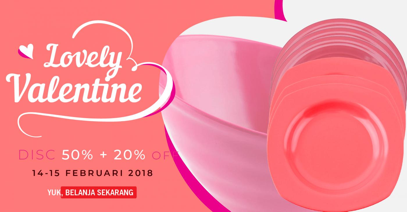 Promo Valentine 2018 IGI GLORI MELAMINE