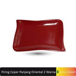 piring ceper segi4 2 warna