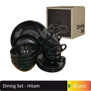 Dining Set Hitam