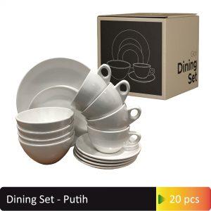 Dining Set Putih