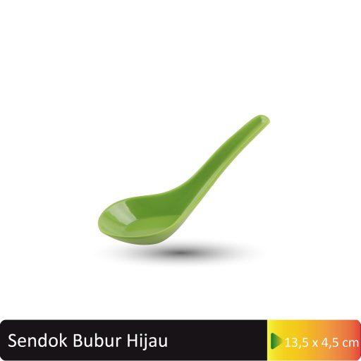 sendok bubur hijau