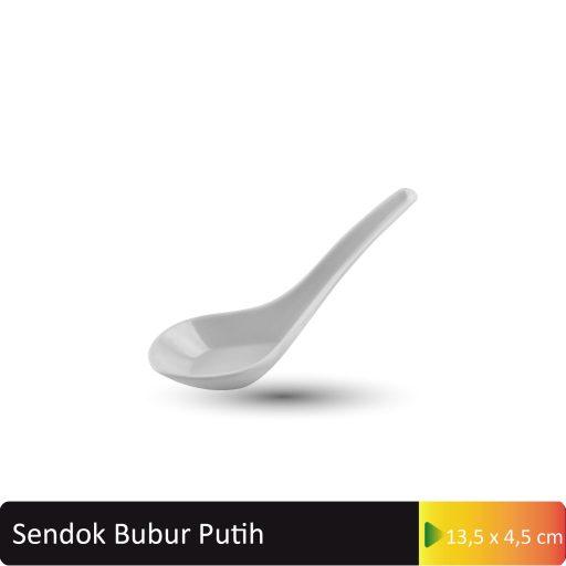 sendok bubur putih