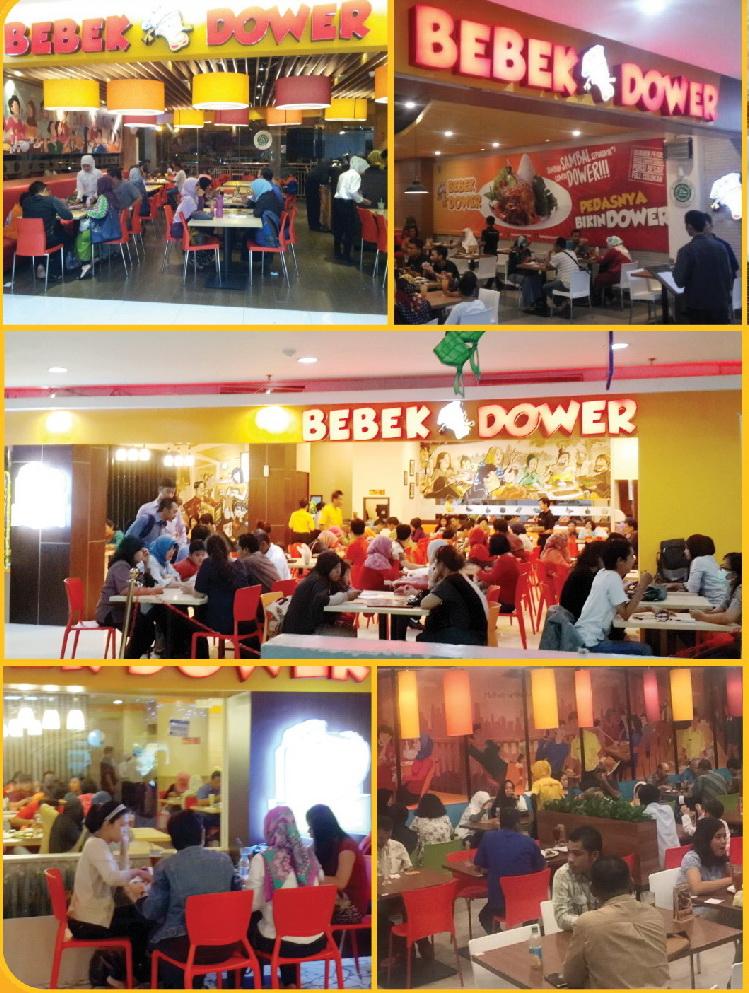 outlet Restoran Bebek Dower di Indonesia